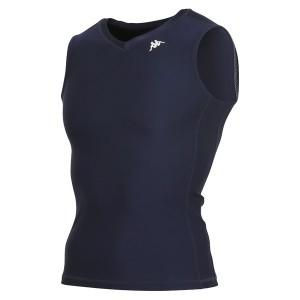 カッパ(Kappa) ノースリーブコンプレッションシャツ KF412UT30-NV