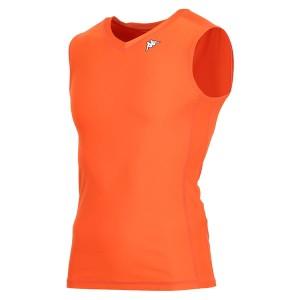 カッパ(Kappa) ノースリーブコンプレッションシャツ KF412UT30-OR2