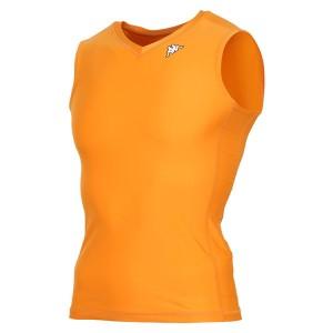 17FW カッパ(Kappa) ノースリーブコンプレッションシャツ KF412UT30-OR