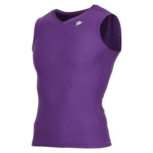 カッパ(Kappa) ノースリーブコンプレッションシャツ KF412UT30-PU