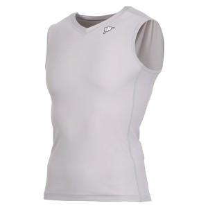 17FW カッパ(Kappa) ノースリーブコンプレッションシャツ KF412UT30-SI