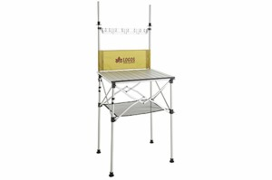 LOGOS ロゴス smart LOGOS kitchen クックテーブル(風防付き) (73186510)(ファニチャ)