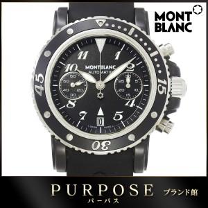 e6e0b6ba13 モンブラン MONTBLANC マイスターシュティック スポーツ クロノグラフ 7044 メンズ 腕時計 【中古】時計