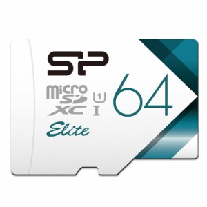 """""""シリコンパワー microSDXCカード 64GB class10 Nintendo Switch 動作確認済 UHS-1対応 最大読込85MB/s アダプタ付 永久保証 SP064GBST.."""