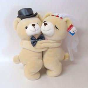 ウェディング ぬいぐるみ ラブシリーズ ウェディング ラブくま ぬいぐるみLLサイズ クマ ぬいぐるみ ウェルカムドール 結婚祝い 完成品