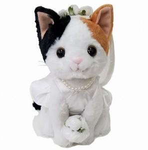 プレミアムウェディング ミケネコ 新婦(53096) 【送料無料】(人形、玩具、おもちゃ、ぬいぐるみ、キャラクターグッズ、プレゼントに
