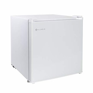 ALLEGiA(アレジア) 冷蔵庫 46L 小型 一人暮らし 家庭用 ミニ 前開き 1ドア 静音 ホワイト AR-BC46-NW