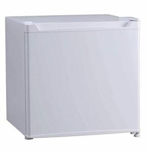 アイリスプラザ 冷蔵庫 46L 1ドア 小型 右開き 幅47cm ホワイト PRC-B051D-W