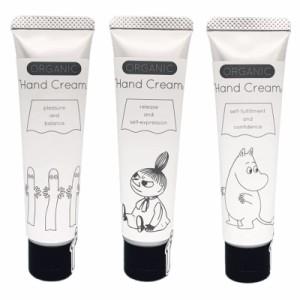 【新商品】Moomin オーガニックハンドクリーム ムーミン ミイ ニョロニョロ