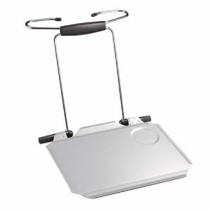 車載テーブル ハンドル ヘッドレスト固定 簡易 折り畳みテーブル [100-014]【送料無料】