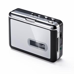 カセットテープ MP3変換プレーヤー デジタル化 microSD保存 AUX端子 カセットプレーヤー [400-MEDI013]【送料無料】