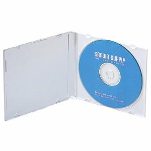 薄型 CD プラケース 5mm厚 10枚セット マットホワイト DVD BD スリムケース [FCD-PU10MW]