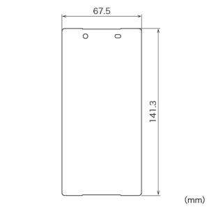 Xperia Z5 液晶保護フィルム ブルーライトカット 指紋防止 光沢タイプ SOV32 SO-01H [PDA-FXP24KBC]