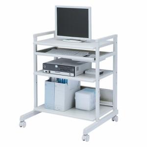 スチール製パソコンラック W670×D644×H828mm[RAC-EC6SN2]