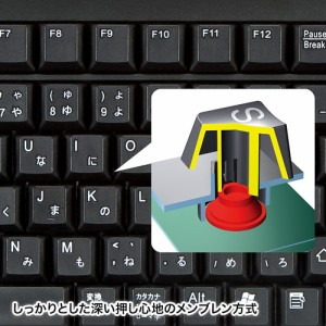 表計算キーボード USB & PS/2接続[SKB-MM2BK]