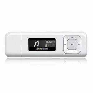 【送料無料】MP3プレーヤー 8GB FMラジオ搭載 ホワイト T.sonic 330 デジタルオーディオプレーヤー[TS8GMP330W]トランセンド