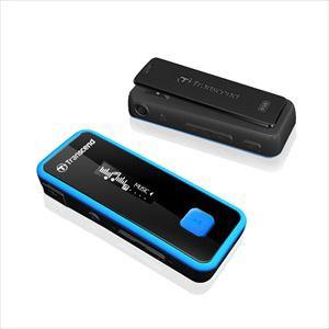 【送料無料】MP3プレーヤー 8GB 耐衝撃 防滴 FMラジオ搭載 T.sonic 350 デジタルオーディオプレーヤー[TS8GMP350B]トランセンド