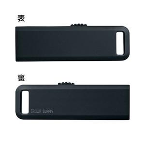 USBメモリー 2GB ブラック USBフラッシュメモリー[UFD-SL2GBKN]