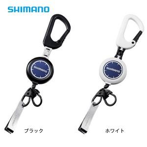 シマノ カラビナリールCR ラインカッター付 PI-032R (釣り小物)