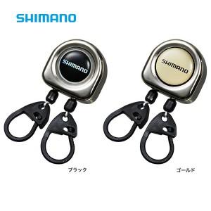 シマノ ダブルピンオンリール メタル PI-411R (リールキーホルダー)