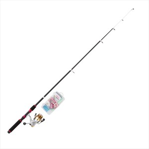 お買得品 ミニコンパクトサビキ釣りセットDX 180 (釣竿 セット) 入門セット 竿 リール 仕掛けセット