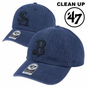 47 キャップ 福岡ソフトバンクホークス オリックスバファローズ 47フォーティーセブン クリーンナップ メンズ レディース 帽子 NPB 日本