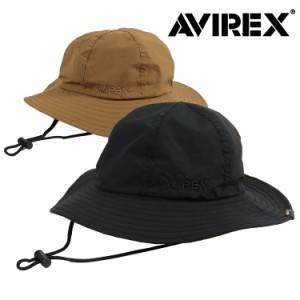 アビレックス ハット 帽子 メンズ レディース AVIREX AX Cordura Fabric FIRE MAN CAP サファリハット ブランド ロゴ アウトドア 日焼け