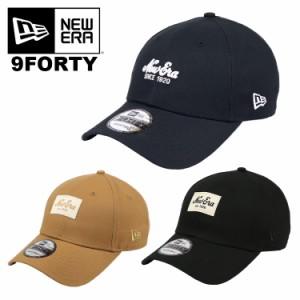 ニューエラ キャップ メンズ レディース 9FORTY HERITAGE/COLOUR ESSENTIAL New Era キャップ 帽子 ロゴ 1920 人気 かっこいい おしゃれ
