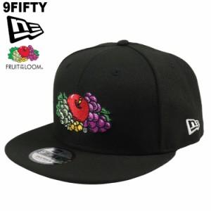 ニューエラ キャップ NewEra 9FIFTY FRUIT OF THE LOOM フルーツオブザルーム  メンズ レディース 帽子 フラットバイザー 人気 ブランド