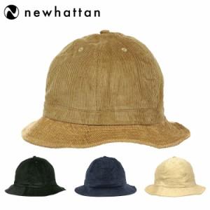 ニューハッタン テニスハット メトロハット バケットハット コーデュロイ メンズ レディース 帽子 Newhattan Corduroy Metro Hat Men's L