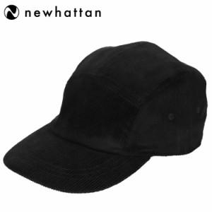ニューハッタン コーデュロイ ジェットキャップ メンズ 帽子 Newhattan Corduroy Jetcap Men's キャンプキャップ 5パネルキャップ