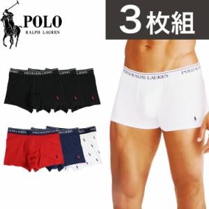 3枚組 ポロ・ラルフローレン ボクサーパンツ メンズ 下着 Polo Ralph Lauren アンダーウェア ドット柄 ストライプ お得 セット SET