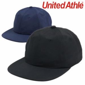 ユナイテッドアスレ キャップ メンズ United Athle ナイロンアーバンフィットベースボールキャップ 帽子 6パネルキャップ ナイロン 撥水
