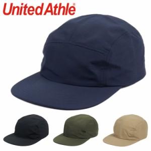 ユナイテッドアスレ ジェットキャップ メンズ レディース United Athle ナイロンジェットキャップ 帽子 CAP 5PANEL ジョッキーキャップ