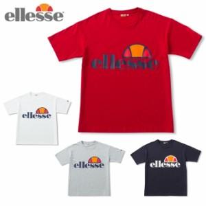 fa4f264c4f14a エレッセ ellesse Tシャツ 半袖 メンズ レディース ヘリテージロゴティー Heritage Logo Tee EH19106 sw