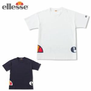 4f90172a976e9 エレッセ ellesse Tシャツ 半袖 メンズ レディース ラウンドロゴティー Round Logo Tee EH19107 sw