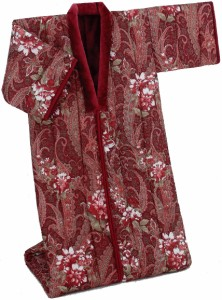 あったか遠赤綿入りボアかいまき布団1枚 ワイン 0231410 あったか 着る毛布 着る布団 プレゼント 贈り物 こたつ