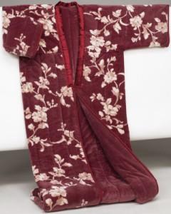わた入りかいまき毛布 ブラウン テイジン(R)ウォーマル(R)使用 マイヤー2枚合せ 6162410 あったか 着る毛布 プレゼント 贈り物
