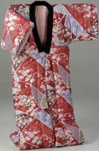 <日本製>ふっくら綿混かいまき 1枚 ピンク a1392410 あったか 着る毛布 着る布団 プレゼント 贈り物 こたつ