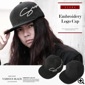 キャップ 帽子 メンズ ヴィジュアル系 V系 SEANA JIGGYS / 刺繍ロゴキャップ