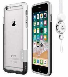 b988b6c6c8 iPhone 6 Plus/iPhone 6s Plus用バンパーとストラップセット ストラップ付きケース カラビナ