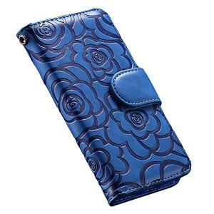 0f36987022 iphone7 iphone8 plus ケース 手帳型 ブランド カード収納 財布型 花柄 革 レザー アイフォン