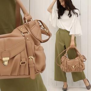 2018夏新作 ショルダーバッグ 2WAYバッグ 全6色 マザーズバッグ 鞄 PUレザー bag2743 カバン