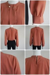 ブラウス とろみシャツ フォーマル トップス レディース体型カバー シンプル 通勤 大きいサイズ 長袖