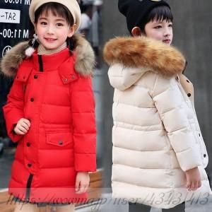 b1b11f5e0899f 冬用 アウター 女の子 男の子 カッコイイ ダウンコート ダウンジャケット 防寒 秋冬 通園