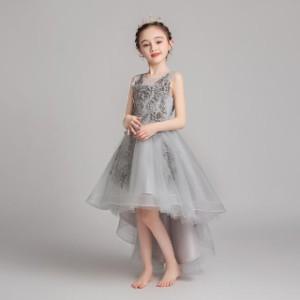 子供 ドレス ロング キッズドレス ピアノ 発表会 女の子 ドレス 子ども 子供 結婚式 ドレス フォーマル 子供服 ワンピース 可愛い レース