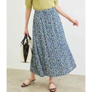 【NEW】ロペピクニック/フラワープリントプリーツスカート