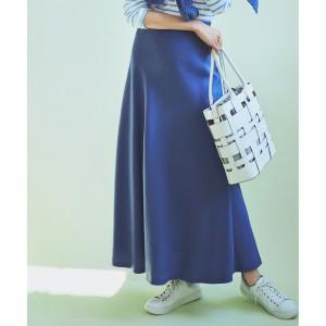 23区/【中村アンさん着用】テンセルサテンギャバ フレア スカート(番号2D26)