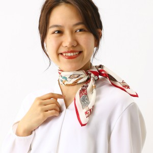 【NEW】ユウキュウ/シルクスカーフ