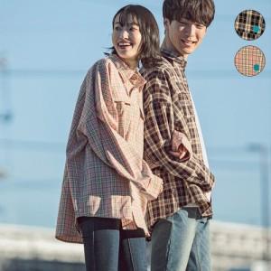 カッパ/【直営店・WEB限定】Kappa(カッパ) オーバーサイズチェックシャツ